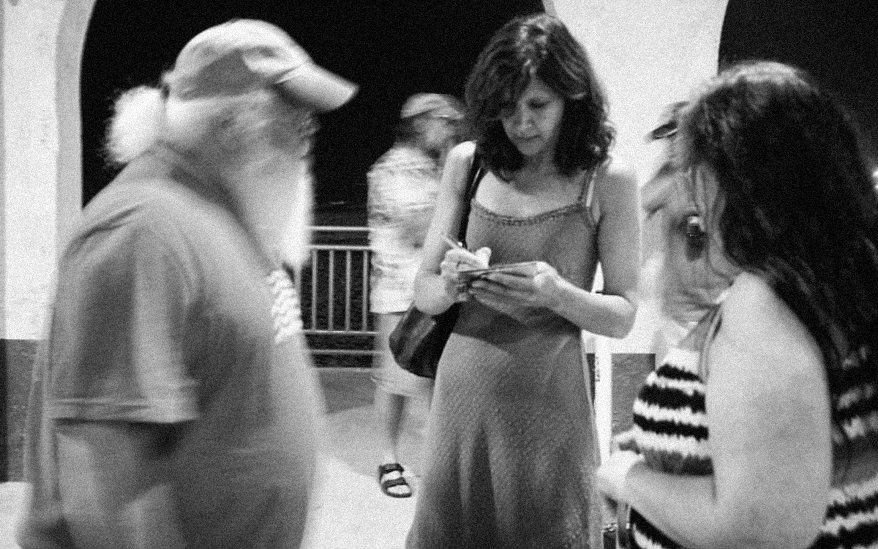Zara Phillips with fans