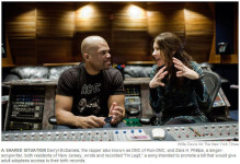 "Darryl McDaniels, the rapper also known as DMC of Run-DMC, and Zara H. Phillips, a singer-songwriter, both residents of New Jersey, wrote and recorded ""I'm Legit,"" a song intended to promote a bill that would give adult adoptees access to their birth records."